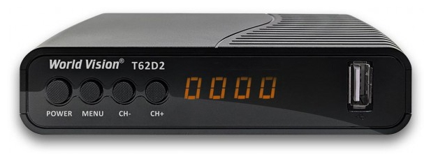 World Vision T62D2 - DVB-C, DVB-T, DVB-T2