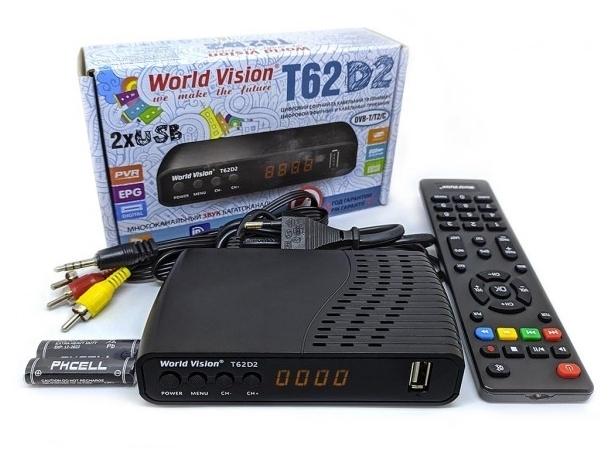 World Vision T62D2 - пульт ДУ