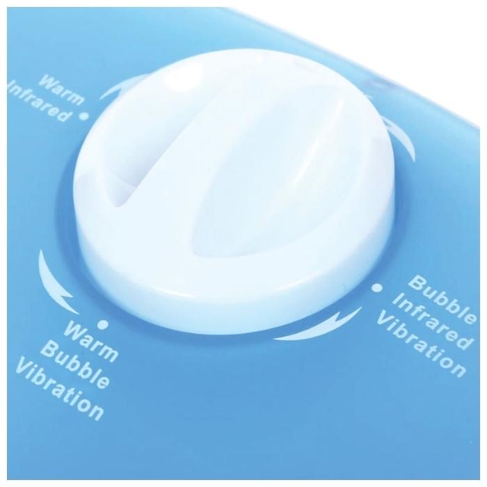 Scarlett SC-FM20104 - функции: подогрев воды, поддержание температуры воды, ароматерапия, использование без воды, инфракрасный излучатель