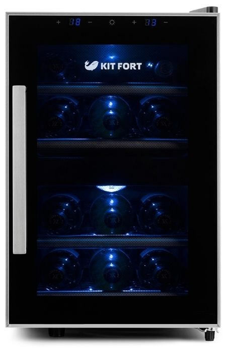 Kitfort KT-2405 - число бутылок: 12
