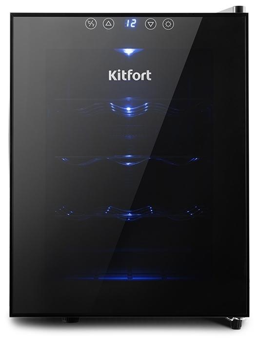 Kitfort КТ-2408 - число бутылок: 12