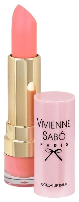 Vivienne Sabo помада-бальзам Baume a levres Color lip balm - эффект: питание, увлажнение, смягчение