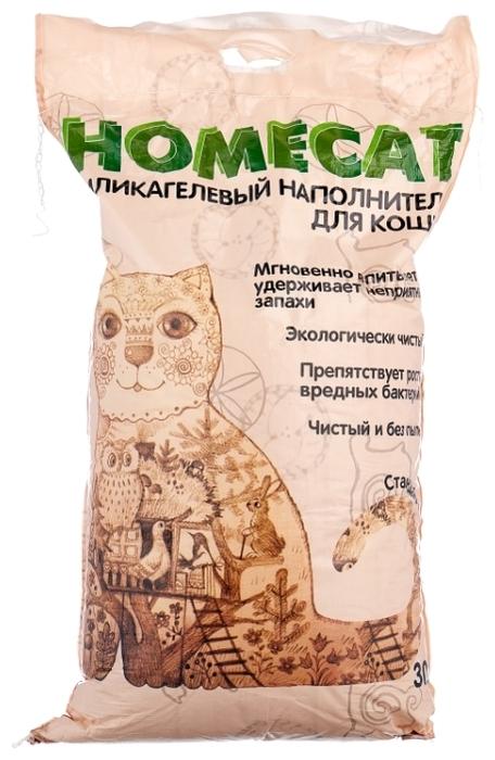 Homecat силикагелевый Стандарт, 30 л - силикагелевый