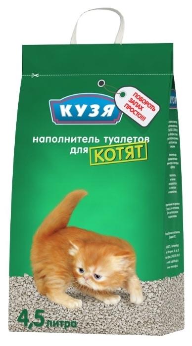Кузя для котят, 4.5 л - минеральный