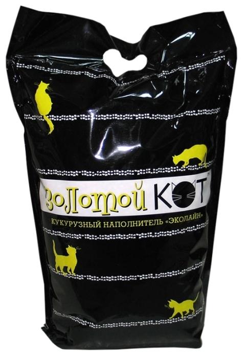 Золотой Кот Эколайн кукурузный, 3.2 кг/6 л - кукурузный