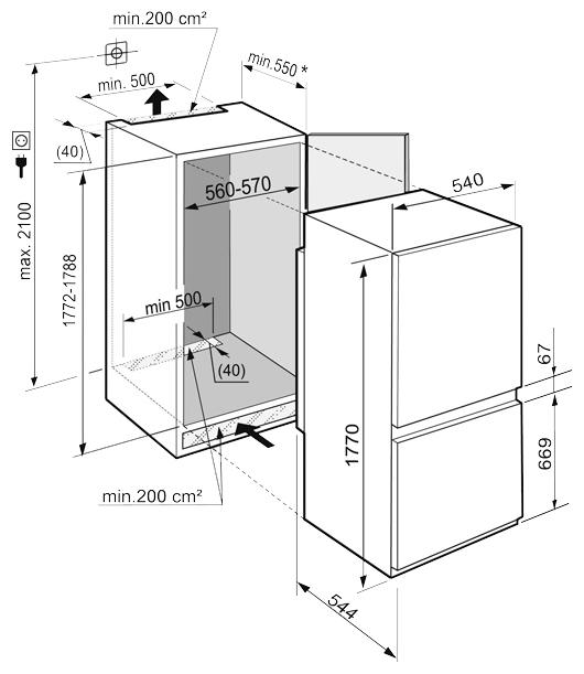 Liebherr ICUS 3324 - капельная система разморозки