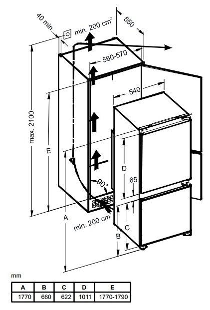 Weissgauff WRKI 2801 MD - капельная система разморозки