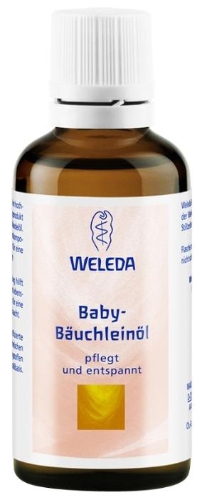 Weleda Масло для массажа животика младенцев - область применения: тело
