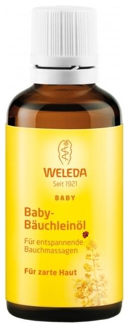 Weleda Масло для массажа животика младенцев - особенности: для массажа, для профилактики колик