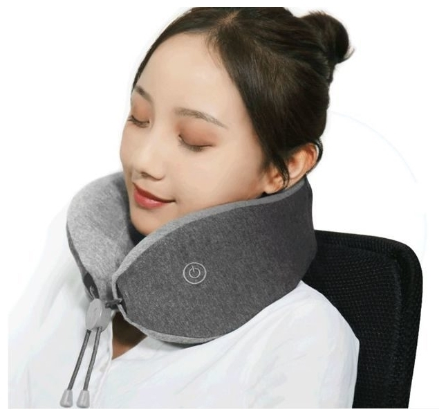 Xiaomi LeFan Comfort-U Pillow Massager LRS100 26.5x24x10 см - функции: вибрация