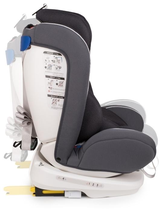 Happy Baby Unix Isofix 0/1/2/3 (до 36 кг) - комплектация: анатомическая подушка, мягкие накладки на внутренние ремни