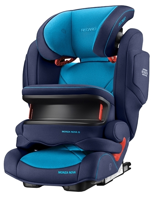 Recaro Monza Nova IS Seatfix 1/2/3 (9-36 кг) - крепление: Isofix, автомобильные ремни