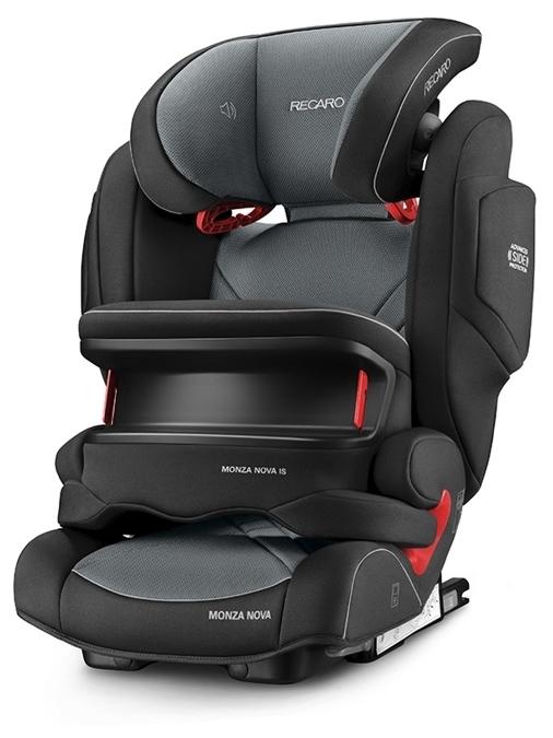 Recaro Monza Nova IS Seatfix 1/2/3 (9-36 кг) - установка лицом вперед