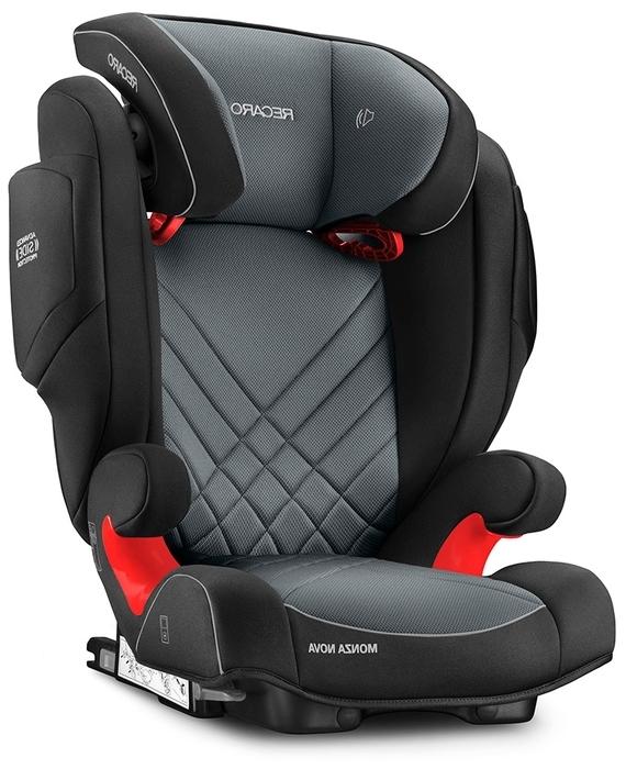 Recaro Monza Nova IS Seatfix 1/2/3 (9-36 кг) - комплектация: анатомическая подушка, столик безопасности