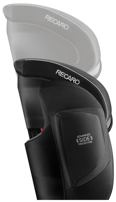 Recaro Monza Nova IS Seatfix 1/2/3 (9-36 кг) - 54x54x67см