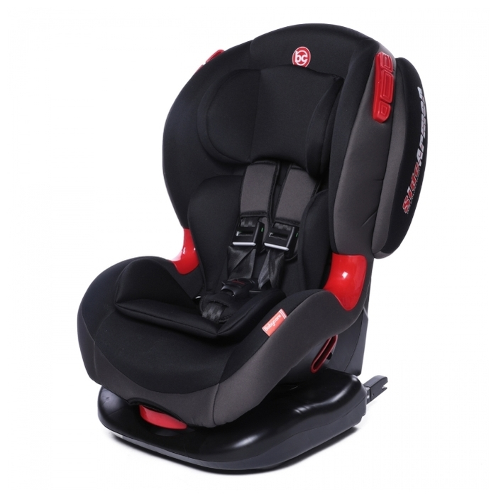 Baby Care BC-120 Isofix 1/2 (9-25 кг) - крепление: Isofix, автомобильные ремни