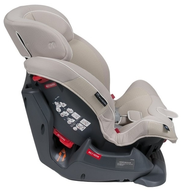 Carmate Swing moon 1/2 (9-25 кг) - комплектация: мягкие накладки на внутренние ремни