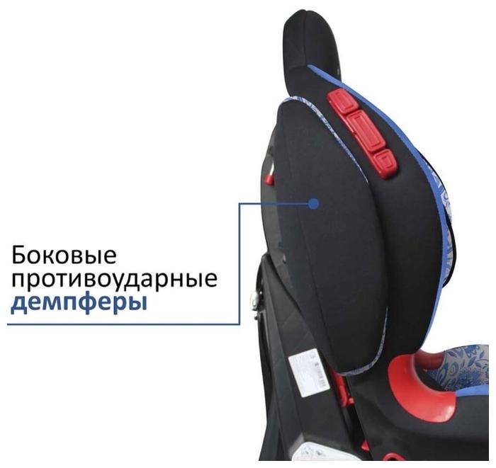 Siger Кокон 1/2 (9-25 кг) - комплектация: анатомическая подушка, мягкие накладки на внутренние ремни