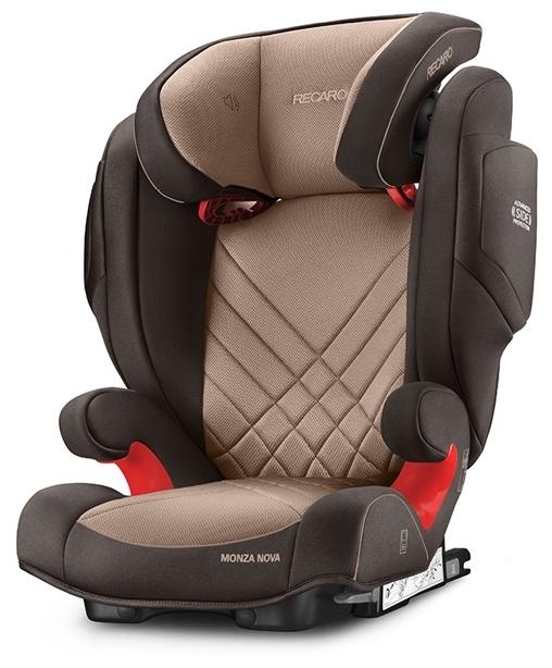 Recaro Monza Nova 2 SeatFix 2/3 (15-36 кг) - крепление: Isofix, автомобильные ремни