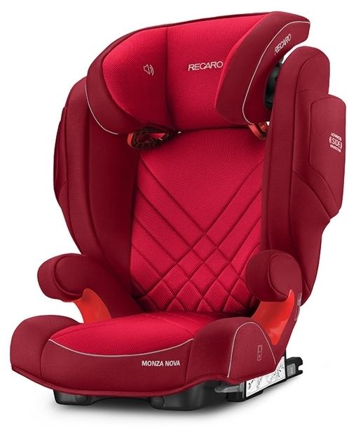 Recaro Monza Nova 2 SeatFix 2/3 (15-36 кг) - комплектация: анатомическая подушка