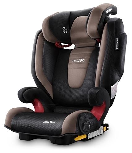 Recaro Monza Nova 2 SeatFix 2/3 (15-36 кг) - вес 6.5кг