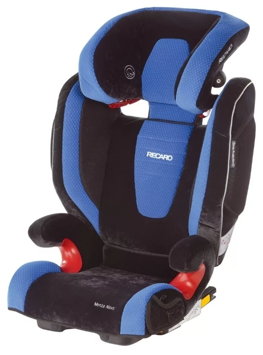 Recaro Monza Nova 2 SeatFix 2/3 (15-36 кг) - оценка краш-теста: 4 (хорошо)