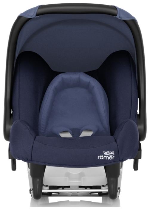 BRITAX ROMER Baby-Safe 0+ (до 13 кг) - комплектация: анатомическая подушка, мягкие накладки на внутренние ремни, капюшон / тент от солнца, ручка для переноски