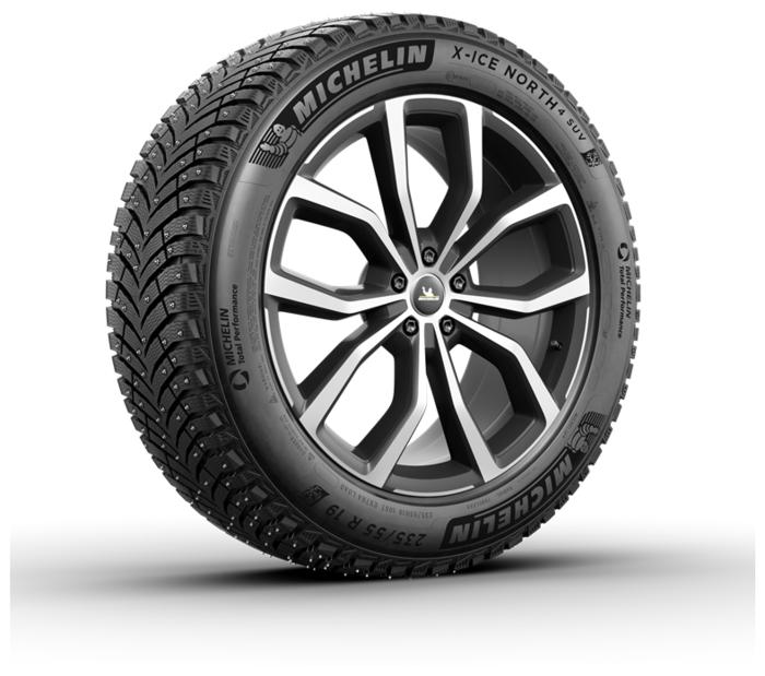 MICHELIN X-Ice North 4 SUV 215/70 R16 100T зимняя шипованная - индекс скорости T (до 190км/ч)