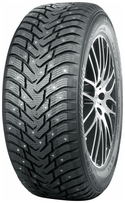 Nokian Tyres Hakkapeliitta 8 SUV 235/65 R17 108T зимняя шипованная - для внедорожника