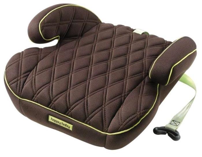 Happy Baby Booster Rider 2/3 (15-36 кг) - крепление: автомобильные ремни