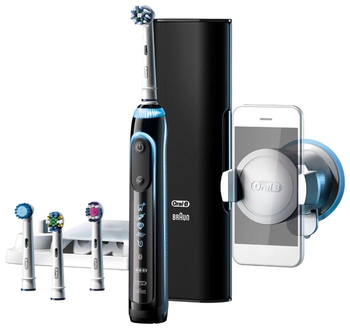 Oral-B Genius 9000 - режимы: ежедневная чистка, отбеливание, массаж, деликатная чистка, уход за деснами