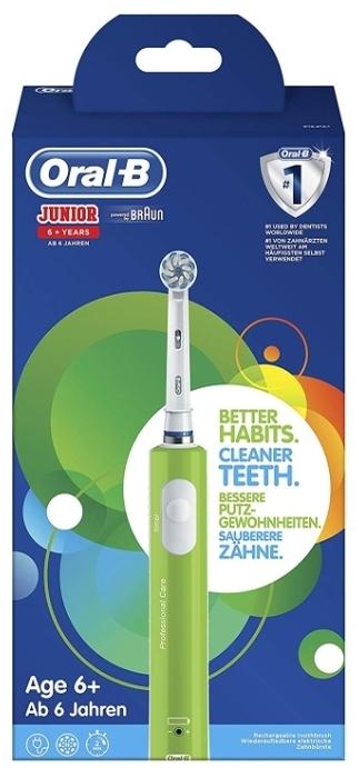 Oral-B Junior - режимы: ежедневная чистка