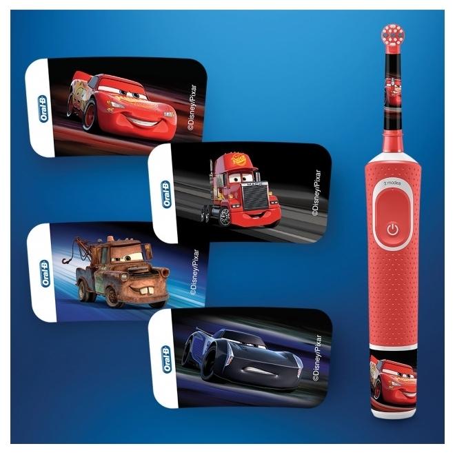 Oral-B Kids Тачки 80324459 - особенности: таймер, синхронизация со смартфоном