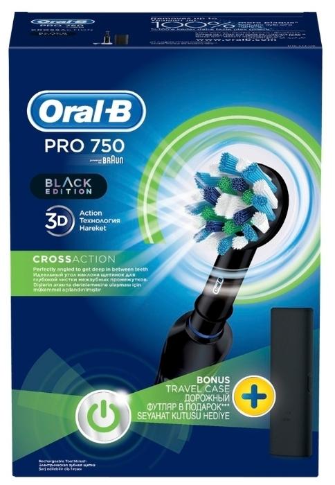 Oral-B Pro 750 CrossAction - назначение: для взрослых