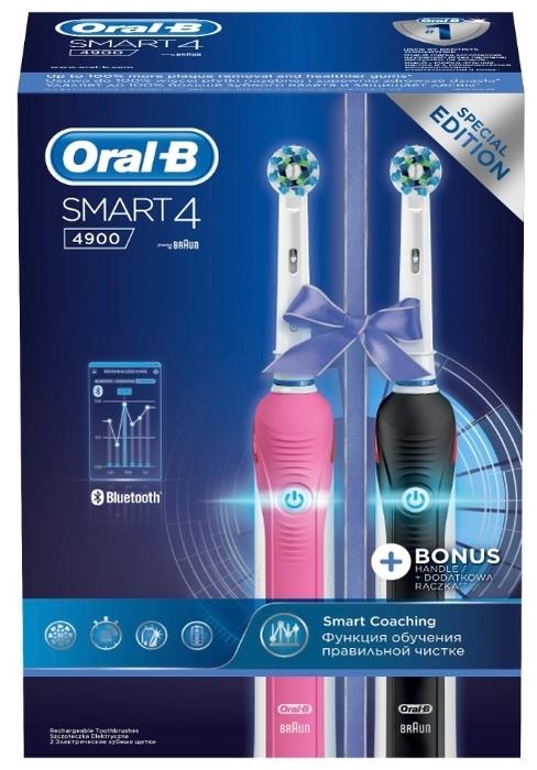 Oral-B Smart 4 4900 - назначение: для взрослых, для детей