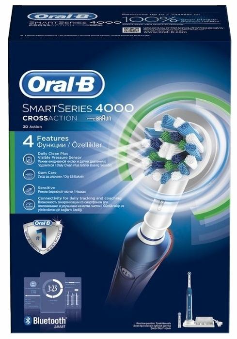 Oral-B SmartSeries 4000 - питание: от аккумулятора