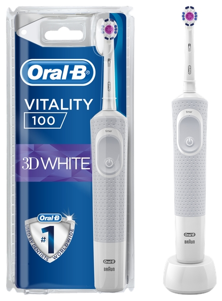Oral-B Vitality 100 3D White - режимы: ежедневная чистка