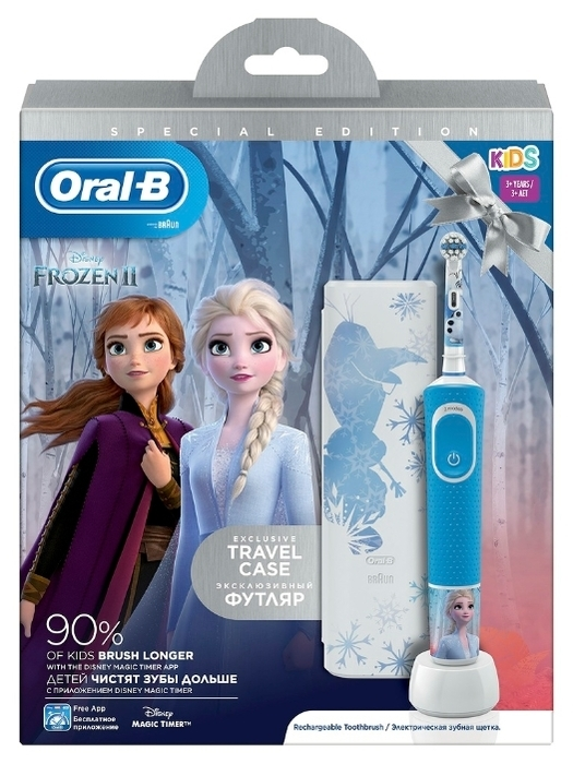 Oral-B Vitality Kids Холодное сердце D100.413.2KX - назначение: для детей