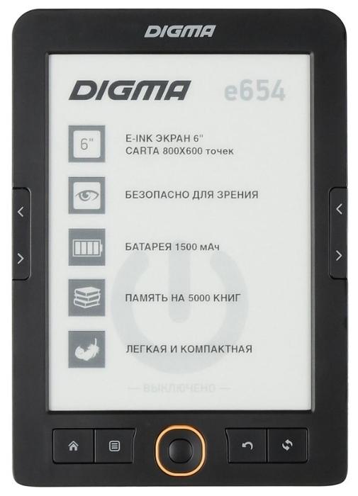 """DIGMA E654 4 ГБ - дисплей  6"""" (800x600)"""
