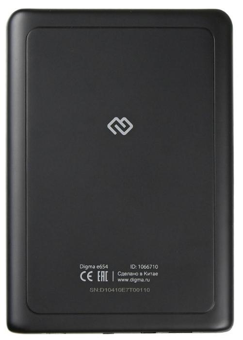 DIGMA E654 4 ГБ - E-Ink Carta