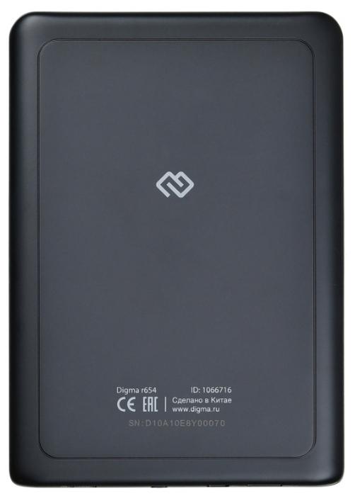 DIGMA r654 4 ГБ - E-Ink Carta, с подсветкой
