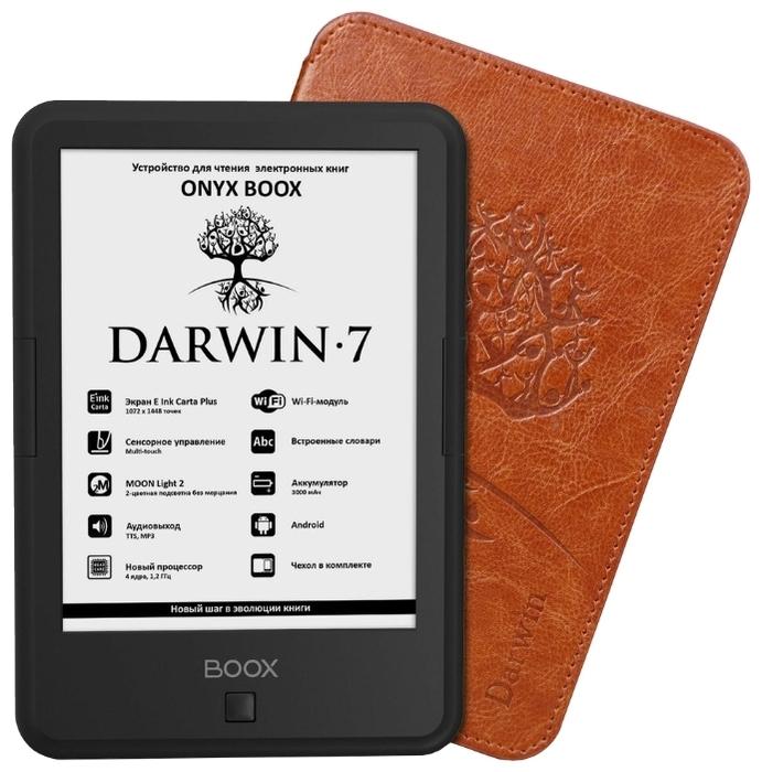 "ONYX BOOX BOOX Darwin 7 8 ГБ - сенсорный дисплей,   6"" (1448x1072)"