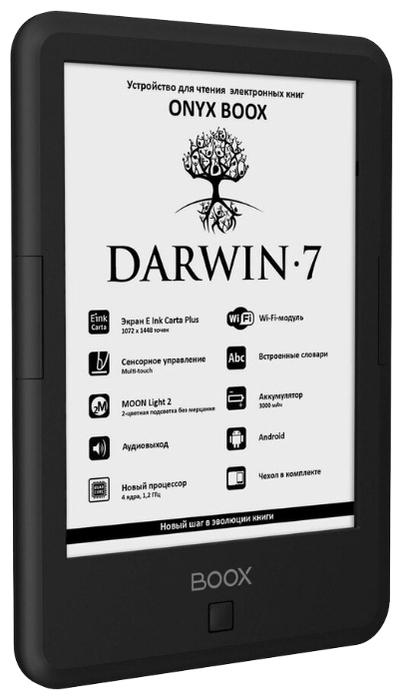 ONYX BOOX BOOX Darwin 7 8 ГБ - 16оттенков серого