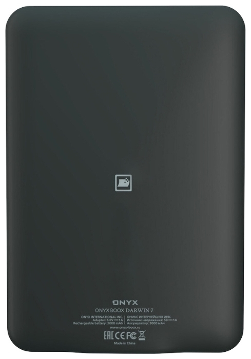 ONYX BOOX BOOX Darwin 7 8 ГБ - объем встроенной памяти: 8ГБ
