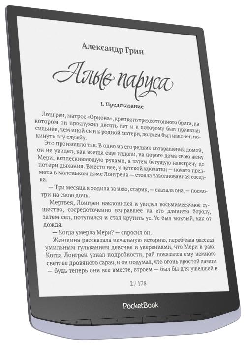 PocketBook 1040 InkPad X - ресурс аккумулятора: 15000страниц
