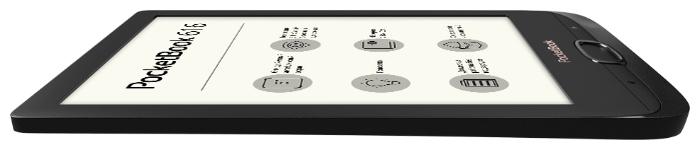 PocketBook 616 8 ГБ - ресурс аккумулятора: 8000страниц