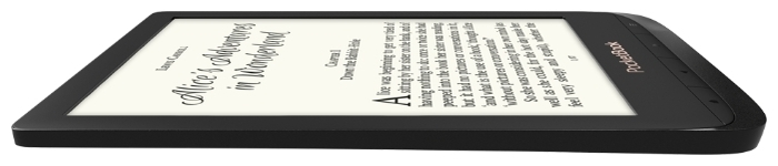 PocketBook 627 - ресурс аккумулятора: 8000страниц