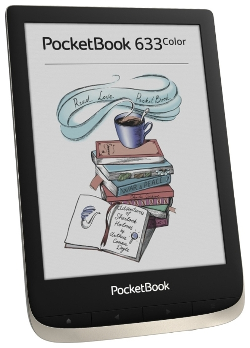 PocketBook 633 Color - E-Ink, с подсветкой