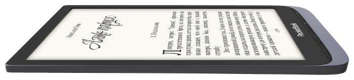 PocketBook 740 InkPad 3 Pro - ШхДхТ: 137х195х8мм, 215г