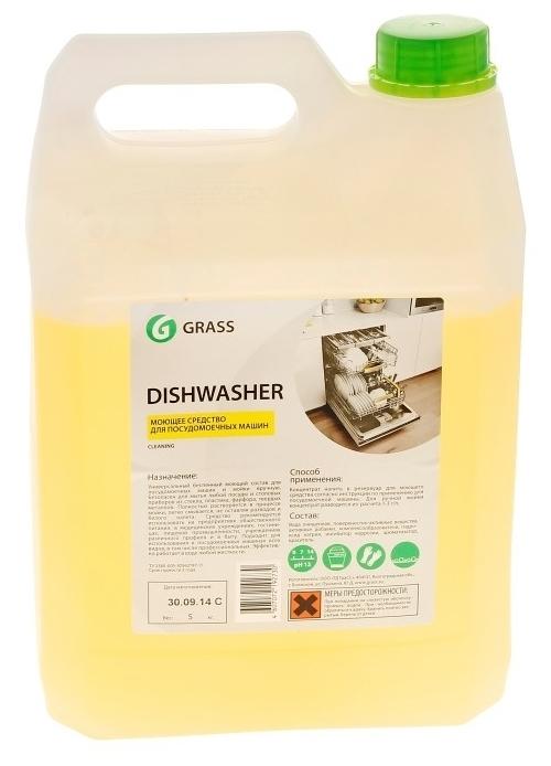 GraSS Dishwasher - не содержит: хлор, фосфаты